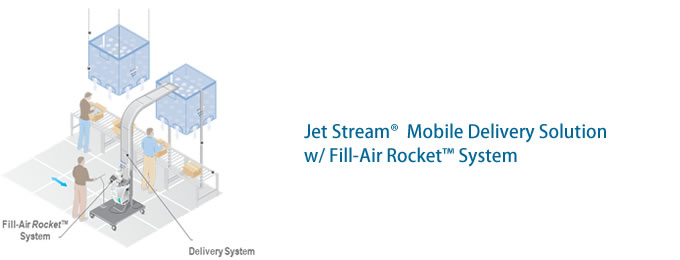 Jet Stream®  Mobile Delivery Solution w/ Fill-Air Rocket™ System